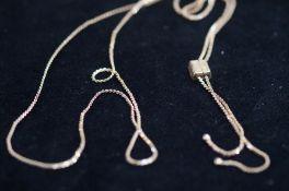 9 Carat Gold Chain & Pendant - 6g