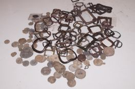 Collection of metal detector finds