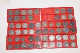 Collection of metal detector finds, Roman coinage