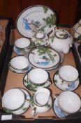 Japanese lithophane tea set