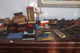 Early clockwork Hornby trainset