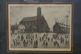 Laurence Stephen Lowry (1887-1976) limited editio