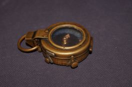 Military Brass Compass dated 1917 No. 66879 with C