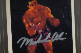 Trading Card signed by Muhammad Ali with COA