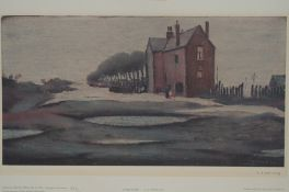 Laurence Stephen Lowry (1887-1976) limited edition