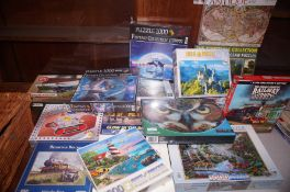 Large quantity of Puzzels many unopened