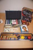 New Poker Set, Dominoes and Others