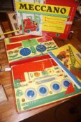 Vintage Meccano Set in excellent condition for age