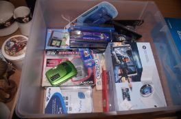 Box of electricals and others