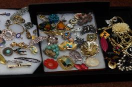 Collection of vintage and retro Costume Jewellery