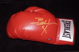 Bernard Hopkins Signed Everlast Boxing Glove with