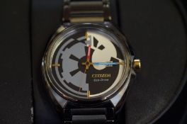 Gents Citizen Star Wars limited edition wristwatch