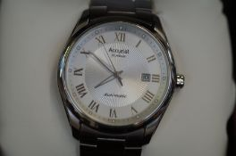Gents Accurist automatic wristwatch (as new)