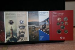Royal Mint 2014 United Kingdom Annual Coin Set