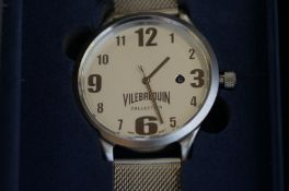 Gents Vilebrequin calendar wristwatch (as new)