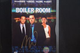 DVD Signed by Vin Diesel COA with COA Stamp by Inp
