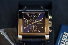 Gents Festina chronograph wristwatch (as new)