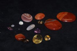 Collection of Gem Stones and Hard Stones to includ