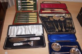Good Collection of Early Flatware