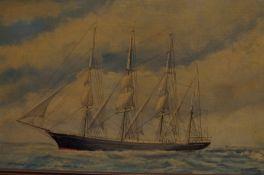 Signed Oil on Board 'Garthpool' R.J.Laycock 1986