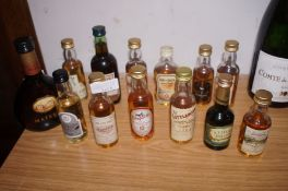 Collection of Miniature Spirits