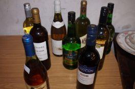 9 Bottles of Wine & Sherry