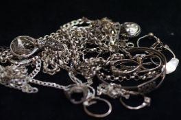 A quantity of scrap Silver, 143g