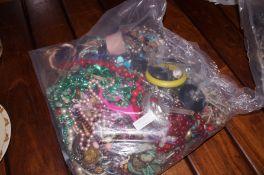 Very Large bag of Costume Jewellery