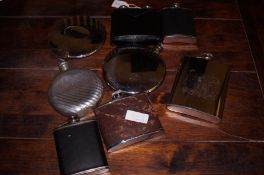 Collection of Hip Flasks