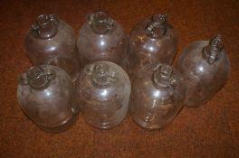 7 Demijohn Bottles