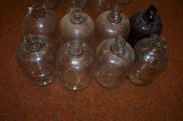 8 Demijohn Bottles