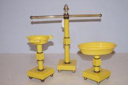 Art Deco Bathroom Set - Plastic