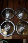4 Vintage Morris Minor Hub Caps