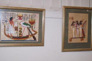 Two Egyptian Papyrus