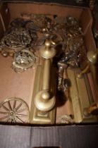 Box of Brassware