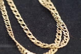 9ct Gold Chain, 27.1g - 30in