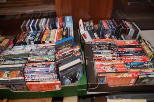 Very Large Collection of DVDs (4 Boxes)