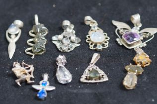 Collection of Pendants and Some Others
