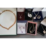 Good Collection of Silver Jewellery (All Boxed)