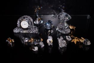 Collection of Crystal ware to include Swarovski an