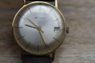 Becker vintage German wristwatch