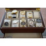 Fitted Watch Box (Watches not Included)