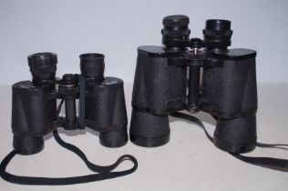 Pair of Regent Binoculars together with a Pair of