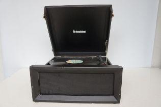 Steepletone Portable Record Deck