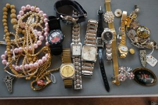 Collection of Watches and Costume Jewellery