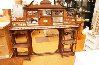 Victorian Mirrored Dresser Top