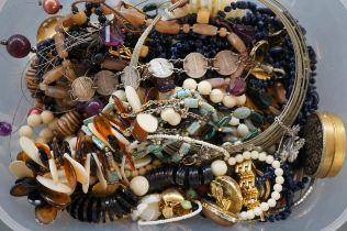 Box of Costume Jewellery