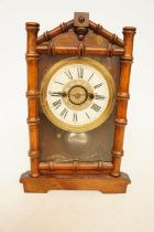 Early 20th Century Mantle Clock Striking on a Bell