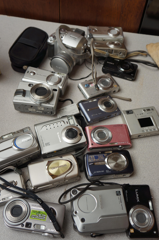 Collection of Digital Cameras