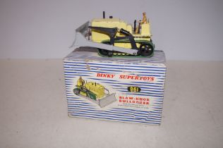 Dinky 961 Blaw Knox Bulldozer (Boxed)